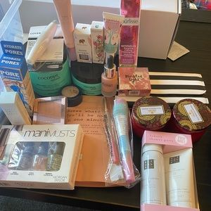Bundle of beauty products